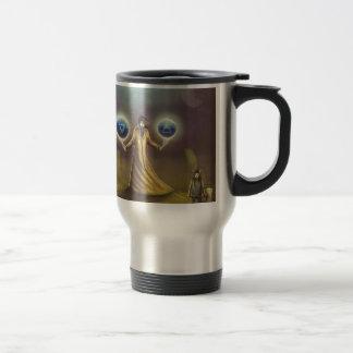 wizard fantasy magic travel mug