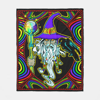 WIZARD FLEECE BLANKET