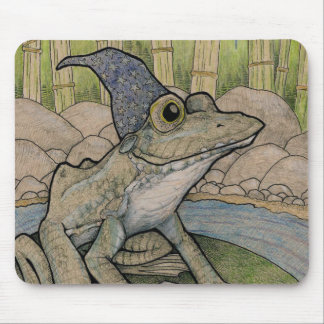 Wizard Frog Mouse Pad