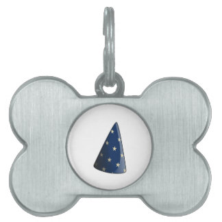 Wizard Hat Pet Tags