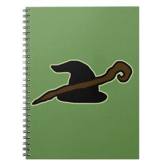 Wizard Hat & Staff Notebooks
