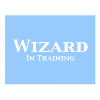 Wizard In Training Gifts Post Cards
