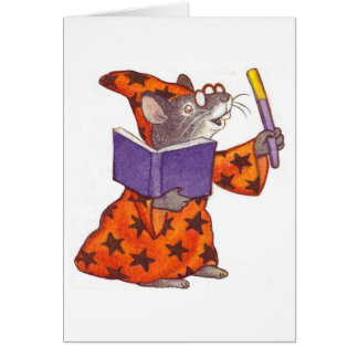 Wizard Mouse Card