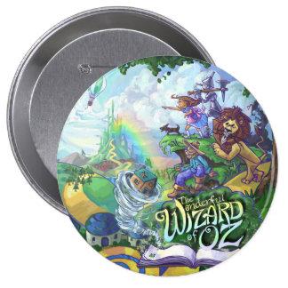 Wizard of Oz 10 Cm Round Badge