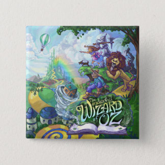 Wizard of Oz 15 Cm Square Badge