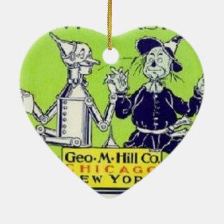 Wizard of Oz Ceramic Heart Decoration