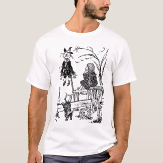 Wizard of Oz Dorothy Toto and the Scarecrow T-Shirt
