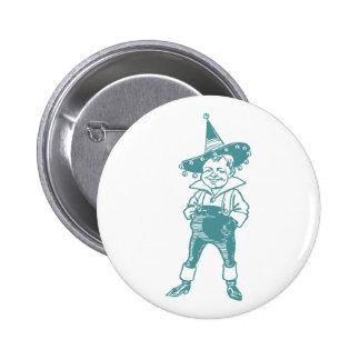 Wizard of Oz Munchkin 6 Cm Round Badge