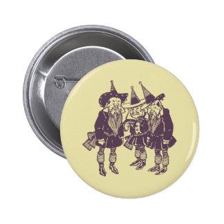 Wizard of Oz Munchkins 6 Cm Round Badge