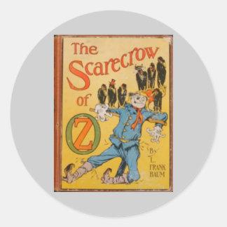 Wizard of Oz Round Sticker