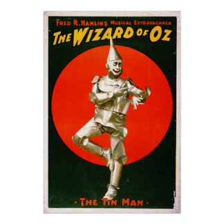 Wizard of Oz - Tin Man 1903 Poster