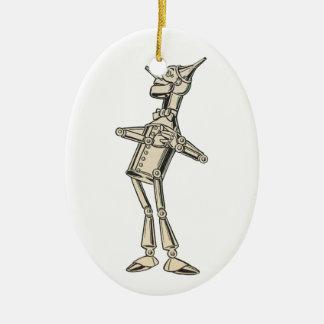 Wizard of Oz Tin Man Ceramic Ornament