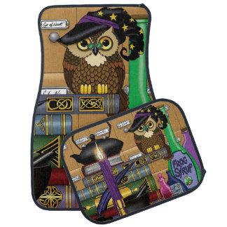 Wizard Owl Car Mat