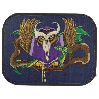 Wizard Owl & Dragon Car Mat