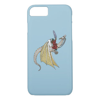 Wizard Riding White Dragon iPhone 8/7 Case