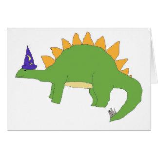 Wizard Stegosaurus card
