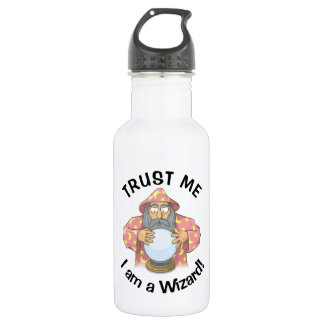 Wizard with Ball 532 Ml Water Bottle