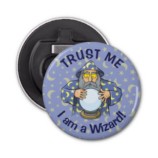Wizard with Ball Bottle Opener