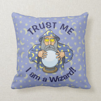 Wizard with Ball Cushion