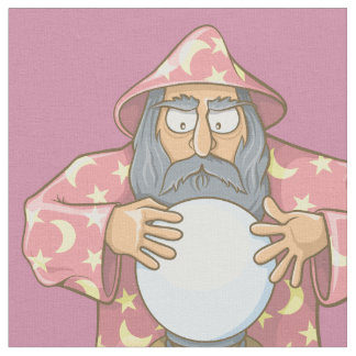 Wizard with Ball Fabric