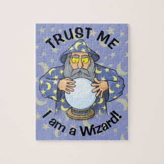 Wizard with Ball Jigsaw Puzzle