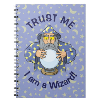 Wizard with Ball Notebook