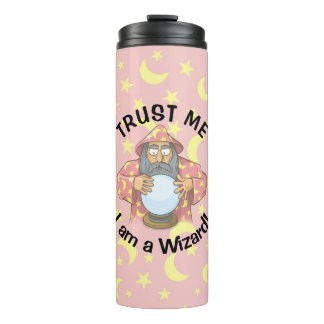 Wizard with Ball Thermal Tumbler