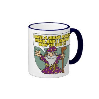 Wizard with Wand Mug