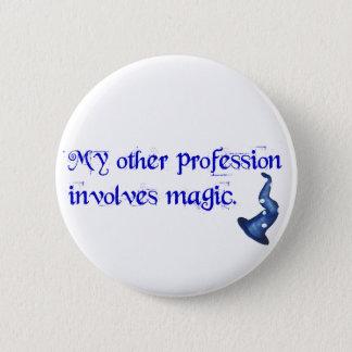 Wizards Profession 6 Cm Round Badge