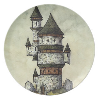 Wizard's Tower Dinner Plate from Unreal Estate