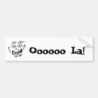 Wizzy Doodle Nut ds - Bumper Sticker