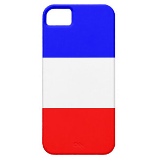 WJ case for iphone 5 french flag