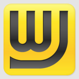 WJ Icon 1.5in Sticker