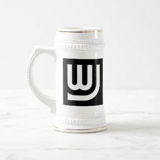 WJ Logo Stein Beer Steins