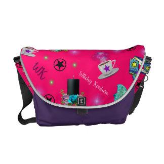 WK #ModernWitchLife Pink Print Overnight Bag Commuter Bag