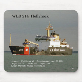 WLB 214 Hollyhock mousepad