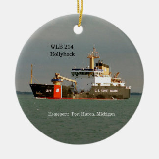 WLB 214 Hollyhock ornament