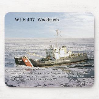 WLB 407 Woodrush mousepad