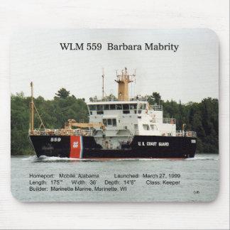 WLM 559 Barbara Mabrity mousepad