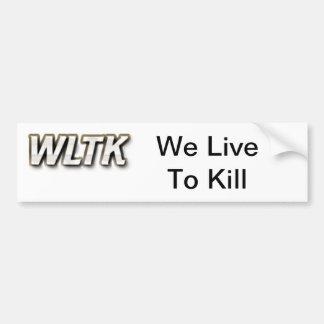 WLTK BUMPER STICKER