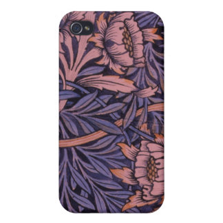 Wm Morris Floral on Phone Cases and Covers Case For iPhone 4