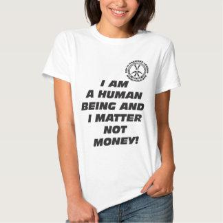 Wmns I Am a Human Being T-Shirt