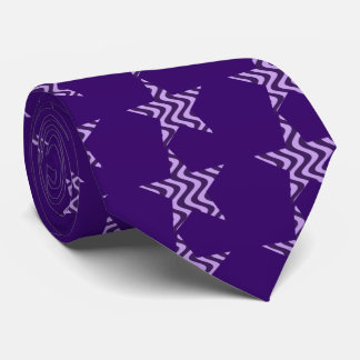 Wobbly Waves (Lilac/Violet) Star Tie