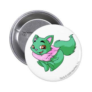 Wocky Green 6 Cm Round Badge