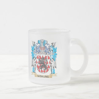 Wohling Coat of Arms - Family Crest Frosted Glass Coffee Mug