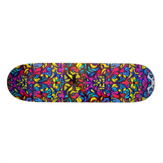Wojoh typo in color 21.6 cm old school skateboard deck