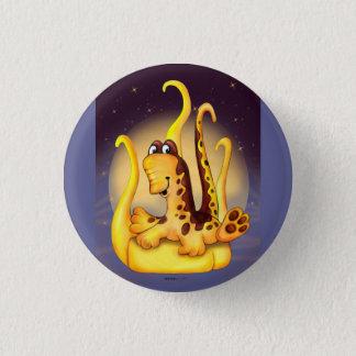 WOK ALIEN MONSTER CARTOON  Button small