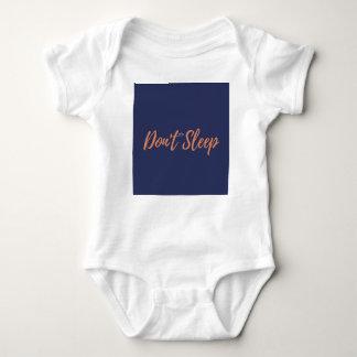 woke6 baby bodysuit