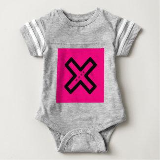 woke 3 baby bodysuit