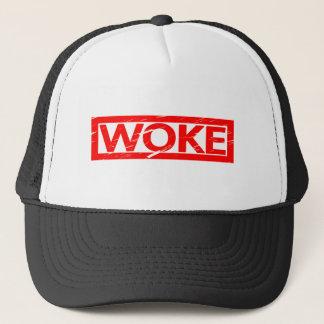 Woke Stamp Trucker Hat
